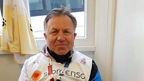 Viron hiihtomaajoukkueen nykyinen päävalmentaja Jaanus Teppan.