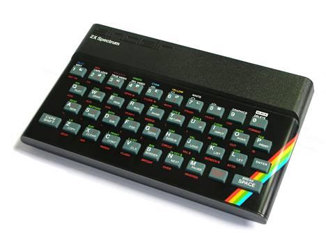 ZX Spectrum oli yksi 1980-luvun myydyimmistä tietokoneista.