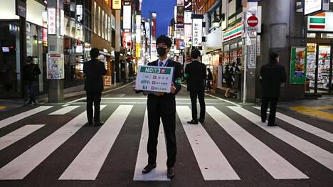Tokiolaisia on kehotettu pysymään kotona.