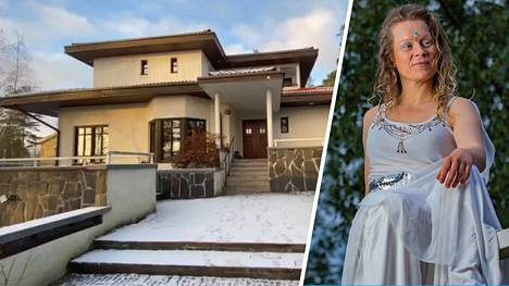 Joitakin vuosia sitten Henrica Fagerlund (oikealla esiintymisasussa) erosi. Yksiössä asuminen ei houkuttanut, joten Fagerlund perusti lapsiperhekommuunin. Siellä asuu nyt kahdeksan aikuista ja viisi lasta.