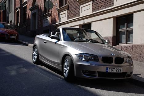 BMW 120i Cabriossa tyyliä on enemmän kuin tilaa.