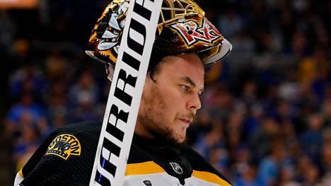 Boston Bruinsia edustavan Tuukka Raskin palkintokaappi täydentyi.