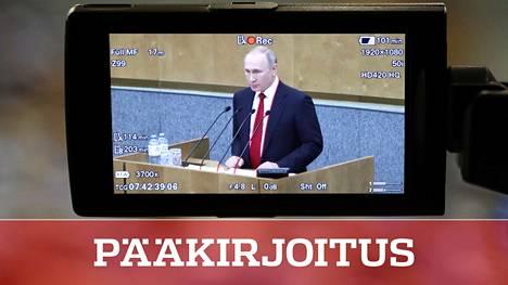 Vladimir Putin on nyt hyväkuntoisen oloinen 67-vuotias. Jos hän jatkaisi Venäjän presidenttinä vuoteen 2036, hän olisi tuolloin 84-vuotias.