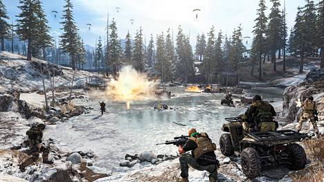 Call of Dutyn selviytymispeli on nimeltään Warzone. Kuun alussa julkaistu peli on tällä hetkellä supersuosittu.