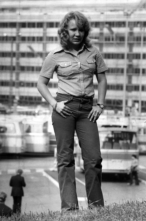 Vicky Rostin ura alkoi jo teini-ikäisenä. Kuva vuodelta 1978.