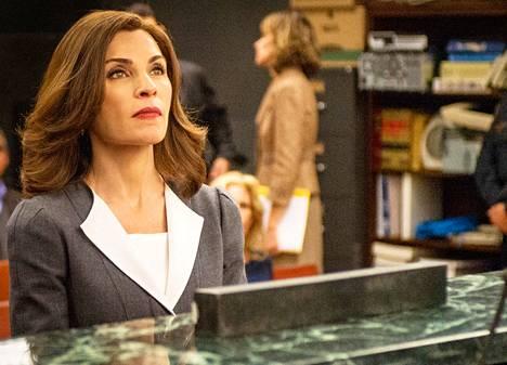Good Wife -sarjan uudet jaksot pyörivät parhaillaan Liv-kanavalla.