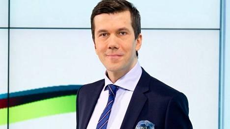 Tommy Fränti tunnetaan Ylen uutisankkurina.