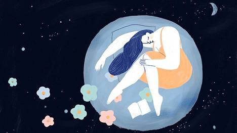 Rauhoittasiko iltasatujen kuuntelu levotonta unta?