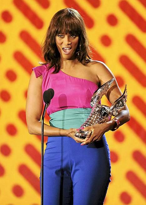 Tyra Banks palkittiin kategoriassa tyyli.