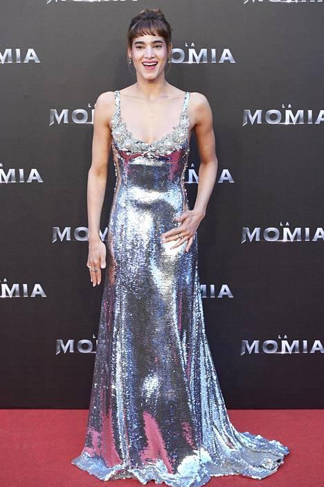 Sofia Boutella esittää prinsessa Ahmanetia.