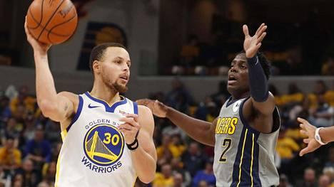 Stephen Curry antoi käden käydä – 26 pistettä 27 minuutissa hurjalla tarkkuudella
