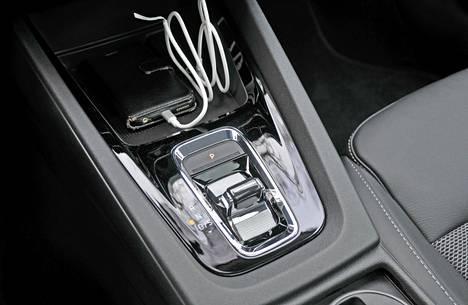 DSG-automaattivaihteiston valitsin on vaihtunut sähkötoimiseksi.