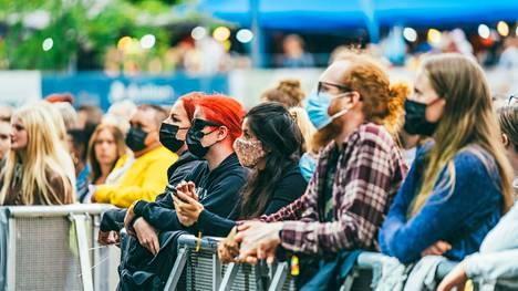 Eniten takuuta on haettu musiikkifestivaaleille, konserteille, näyttelyille ja messuille.