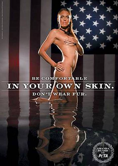 Kaksinkertainen olympiavoittaja Amanda Beard poseeraa alastomana tänään julkistetussa posterissa.