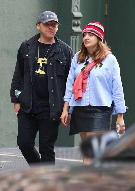 Rupert Grint ja Georgia Groome odottavat esikoistaan.