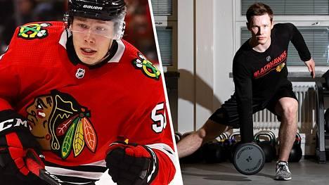 Mikael Hakkarainen jahtaa NHL-unelmaansa.