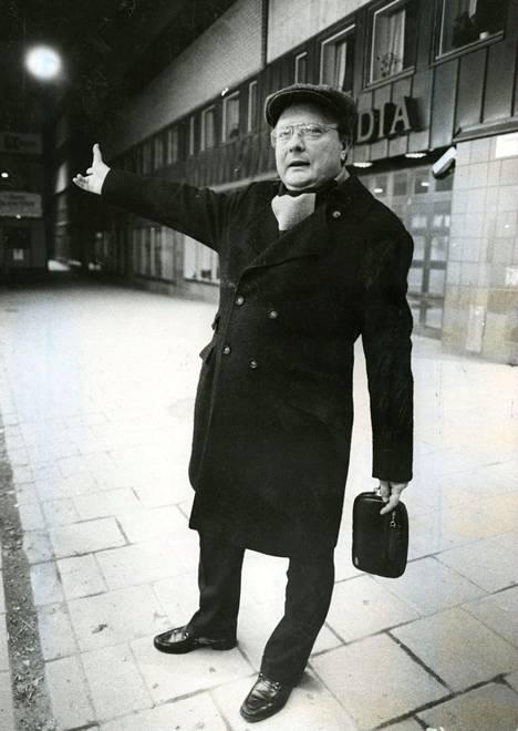 Stig Engström kuvattuna vuonna huhtikuussa 1986.