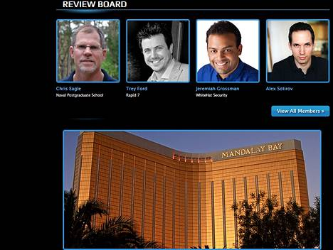 Black Hat -tietoturvakonferenssi kokoontuu Las Vegasissa.