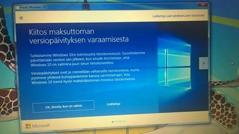 Ilmaisesta Windows 10 -päivityksestä on yhä vaikeampi kieltäytyä.