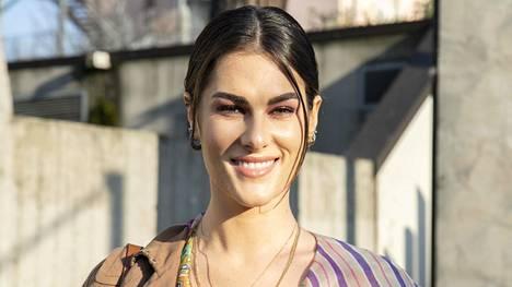 Francesca Sofia Novello Milanon muotiviikoilla viime helmikuussa.