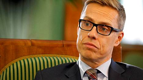 Pääministeri Alexander Stubb.