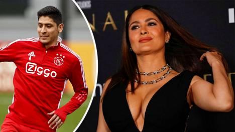 Edson Alvarez (vas.) ei pyörtänyt päätöstään Salma Hayekin taivutteluista huolimatta.