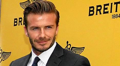 David Beckhamin naamiaisasu näytti kutakuinkin tältä.
