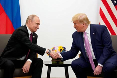 Venäjän presidentti Vladimir Putin ja Yhdysvaltain presidentti Donald Trump ovat tavanneet jo useampaan kertaan.