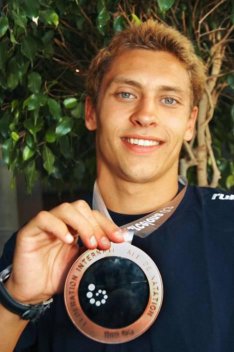 Puhakka voitti MM-pronssia vuonna 2003. EM-kisoista tuli yhteensä 7 mitalia.