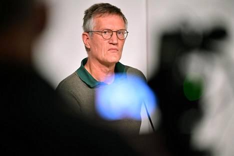 Valtionepidemiologi Anders Tegnell on saanut kritiikkiä koronan hoidosta Ruotsissa.