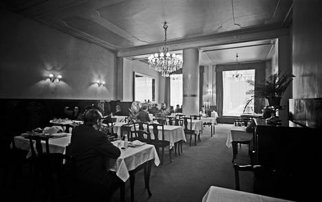 Ravintola Kosmos on perustettu vuonna 1924. Kuva vuodelta 1971.