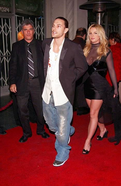 Britney Spearsin ja Kevin Federlinen liitto kesti vain kaksi vuotta.