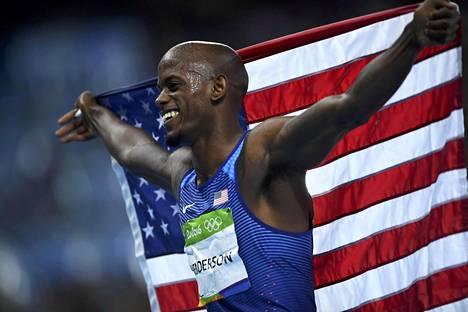 Jeff Henderson voitti olympiakultaa.