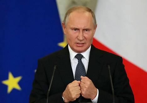 """Yhden teorian mukaan Vladimir Putin voisi tavoitella valtakautensa jatkoa siirtymällä Venäjän ja Valko-Venäjän valtioliiton """"pääsihteeriksi"""" vuonna 2024."""
