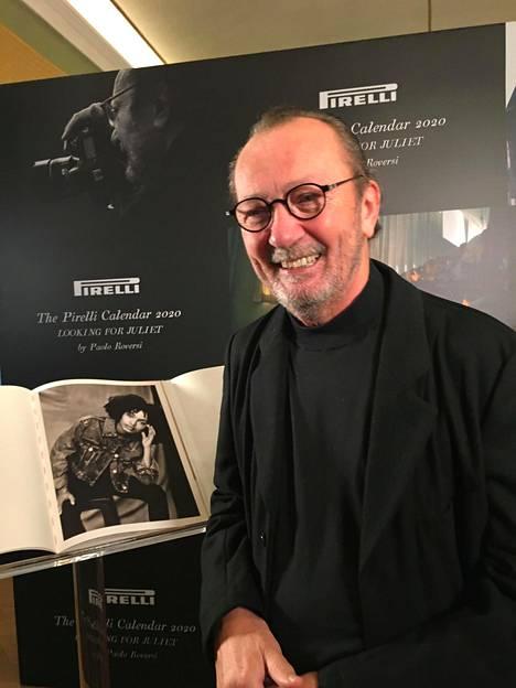 –Kalenterini kertoo oman tarinansa rakkaudesta, valokuvaaja Paolo Roversi kertoo