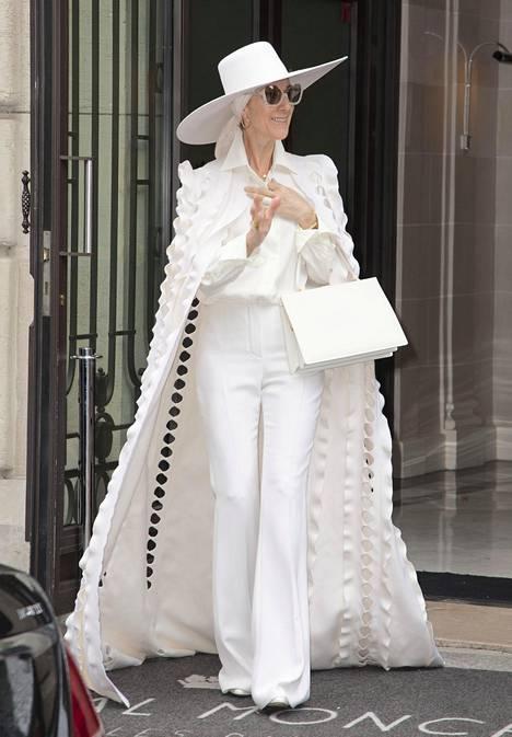 Céline Dionin näyttävät asut herättivät keskustelua vuosi sitten.