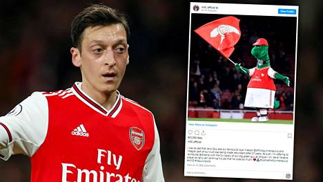 Mesut Özil osoitti tiistaina sankarillisuuttaan.