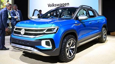 Kun Volkswagen Tarokin valot ja etusäleikkö vaihdetaan vähän tavallisempiin, se on valmis tuotantoon.