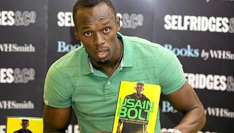 Usain Boltista ilmestyy uusi kirja.