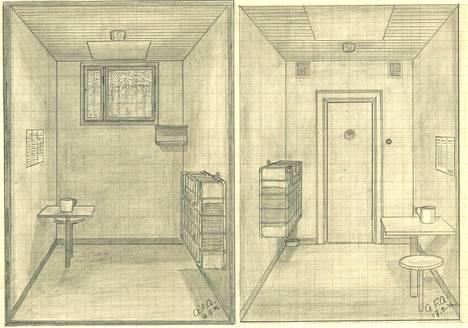 Kenraaliluutnantti Airo piirsi sellinsä millimetripaperille.