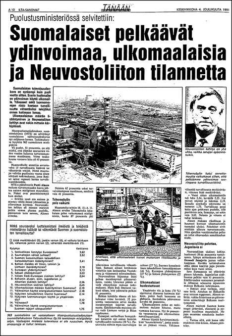 IS 4. joulukuuta 1991.