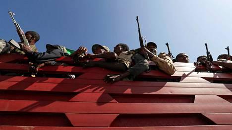 Tigrayn osavaltiossa on käyty taisteluita Etiopian hallituksen joukkojen ja Tigrayn kansan vapautusrintaman (TKVR) joukkojen välillä.