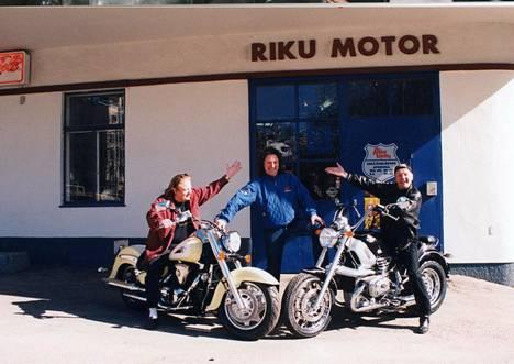 Jope Ruonansuu suhtautui intohimoisesti moottoripyöriin.