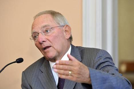 Wolfgang Schäuble on huolissaan Britannian EU-jäsenyydestä.