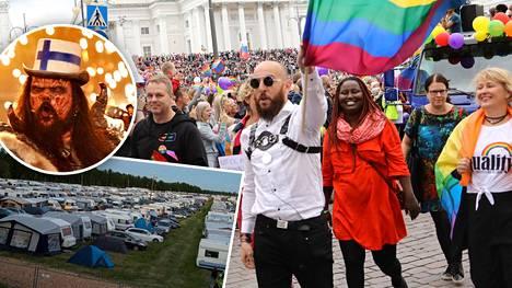 Ennätys-Priden yleisömäärä ylitti Suviseurojen ja Lordin euroviisuvoiton jälkeisen ilmaiskonsertin yleisölukemat.