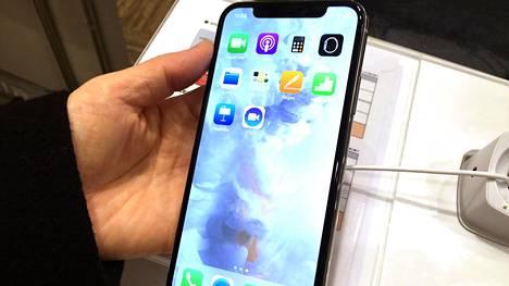 Applen iPhone X on haluttu joululahja.