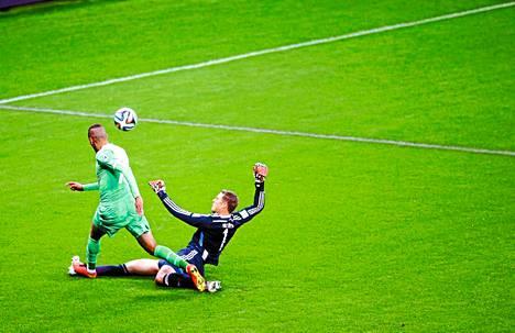 Saksan ja Algerian välinen MM-neljännesvälierä oli Manuel Neuerin näytös.