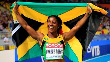 Moskovan MM-kisoissa Shelly-Ann Fraser-Pryce voitti kaiken mahdollisen, eli kolme kultaa.