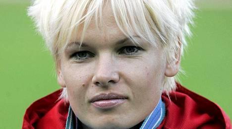 Olga Kuzenkova menetti kultamitalinsa.