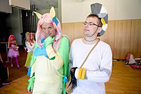 Tshekkiläiset Jaroslav Hakem (vas) ja Pavel Dolezal.